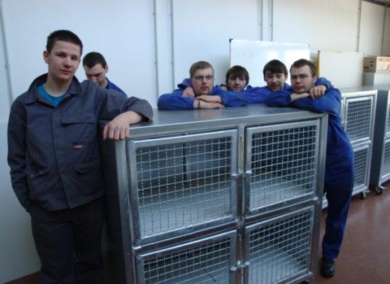 Neue Käfige für die Katzen im Tierheim Stendal-Borstel