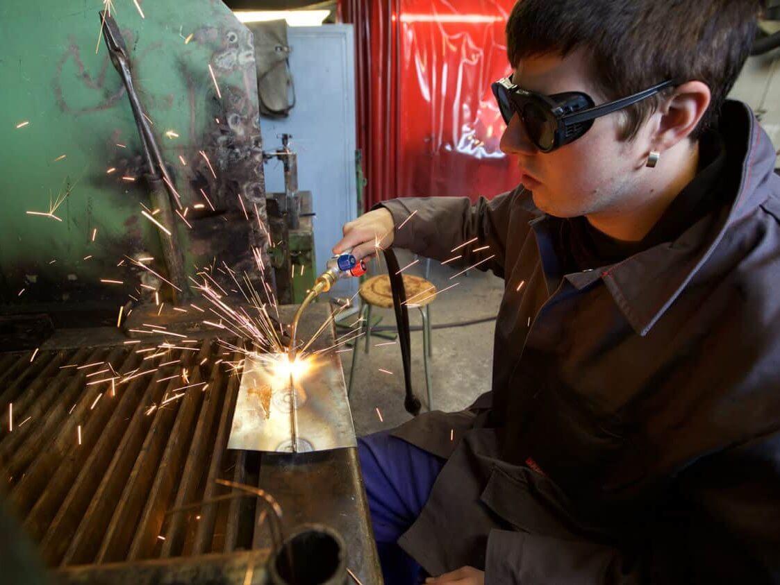 Fachpraktiker/in für Metallbau