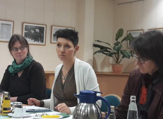 Gesprächsrunde zur Betreuung von Menschen mit Behinderung