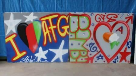 Graffiti und Hip-Hop im BBW – interkulturell